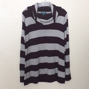 Bitten by Sarah Jessica Parker Striped Sweater XL